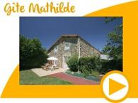 Gite Mathilde avec piscine chauffée en Vendée