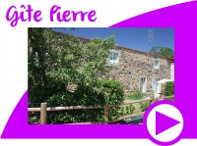 Gite Pierre avec wifi et etang de peche privé en Vendée